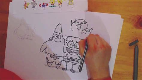 draw spongebob patrick zeichnen lernen spongebob