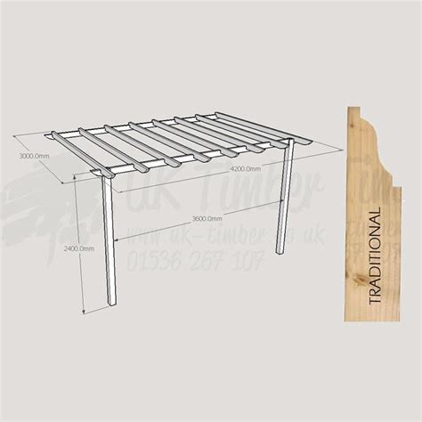 standard pergola kit 3000mm x 4200mm wall mounted traditional buy pergola kits from