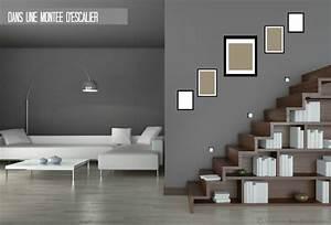 Decoration Murale Montee Escalier : conseil tout savoir sur la disposition des cadres photo ~ Melissatoandfro.com Idées de Décoration