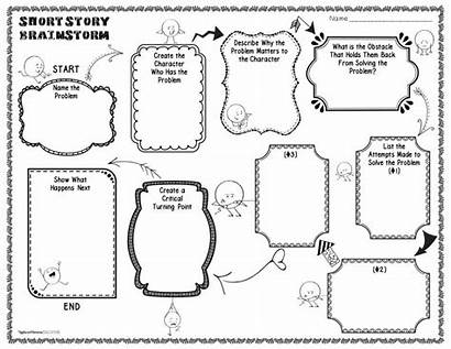 Writing Story Short Graphic Narrative Planning Organizers