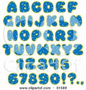 Cartoon of Colorful Monster and Animal Letters and Numbers ...