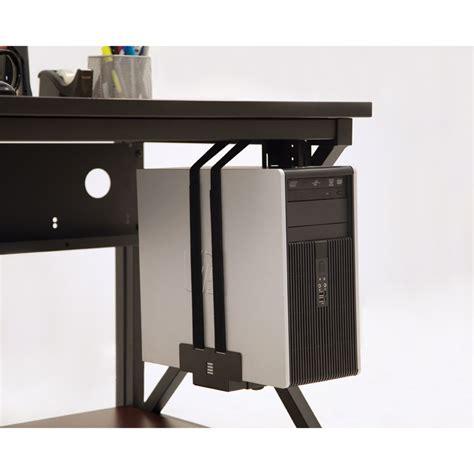 Mini Cpu Holder Desk Mount by Adjustable Cpu Holder