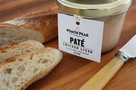 pach pear chicken liver pate