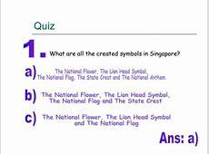 Creating A Singapore Identity