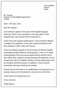 formal letter for job formal letter template With how to write a formal email for job application
