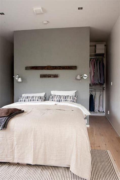 walk in closet bed 10 hidden closet ideas for small bedrooms home design