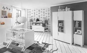 Chambre Enfant Blanc : etagere murale joris chambre bebe blanc gris sable ~ Teatrodelosmanantiales.com Idées de Décoration