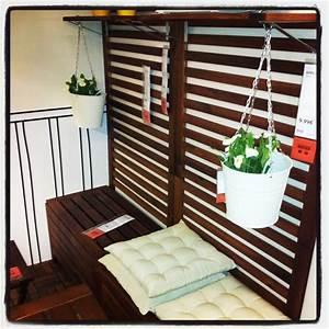 Ikea Mobilier De Jardin : pour mettre sur mon balcon et gagner de la place ikea garden pinterest apartment balconies ~ Teatrodelosmanantiales.com Idées de Décoration