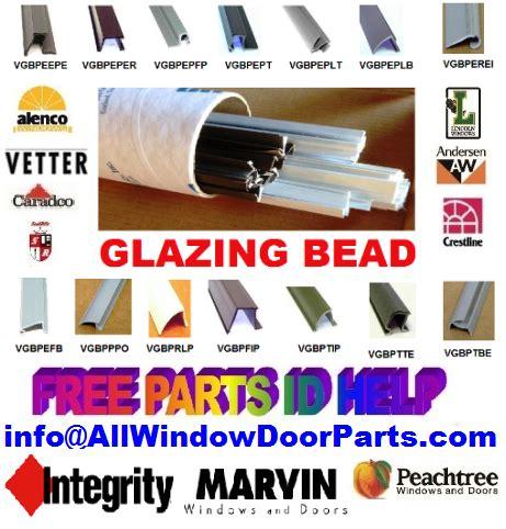 snap  glazing bead aluminum vinyl wood windows