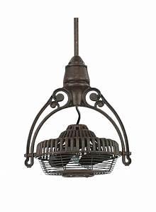 Outdoor ceiling fan heater