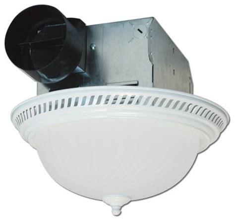 decorative round quiet exhaust bath fan with light 70 cfm
