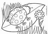 Spring Nature Season Coloring Printable Drawing Drawings sketch template