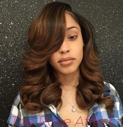 Sew In Hairstyles With Bangs by 25 Trending Sew In With Bangs Ideas On