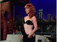 Kathy Griffin strips on live TV yet AGAIN during interview