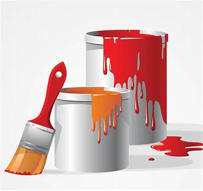 Paint Tools Clipart Brush Wall Cliparts Clip