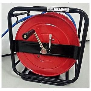 Hose Reel Manual Wind With 30 M Of 10 Mm Hose  U2013 Interlink