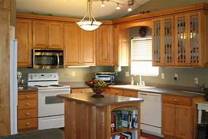 maple kitchen cabinets 2 colors with loversiq With kitchen colors with white cabinets with metal wall art com coupon code