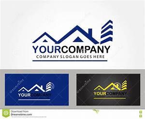 Real estate logo design stock vector. Image of sign ...