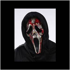 Scream Bleeding Zombie Ghost Face Mask - Mad About Horror