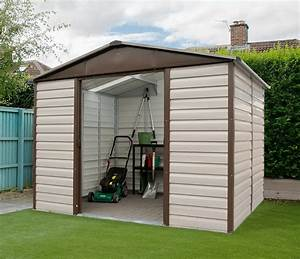 yardmaster 10ft x 12ft metal garden shed 1012tbsl all With all steel sheds