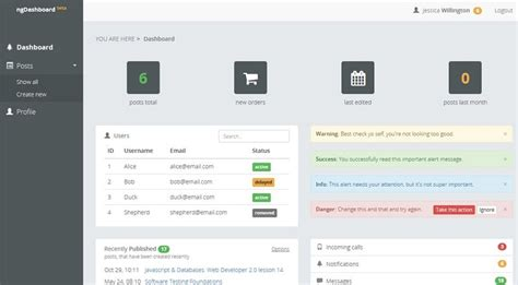 angularjs admin templates   htmldesigns