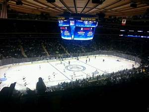 Ny Rangers Square Garden Seating Chart Square Garden Section 223 Row 9 Seat 3 New