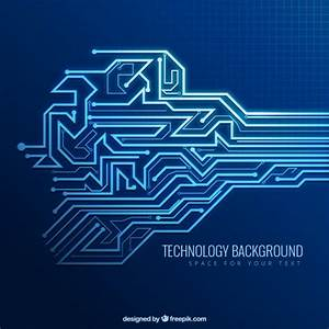 Technology background Vector | Free Download