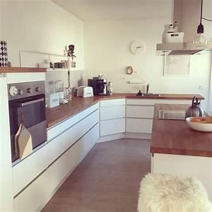 Weiße Küche Mit Holz : die besten 17 ideen zu wei e k chen auf pinterest wei e ~ Articles-book.com Haus und Dekorationen