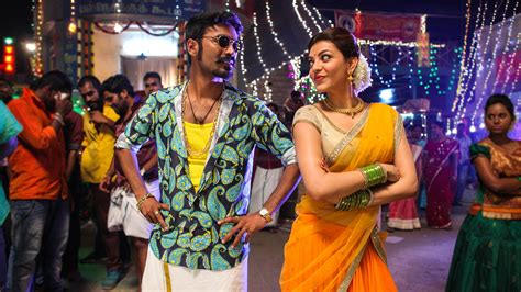 dhanush kajal maari tamil  wallpapers hd wallpapers