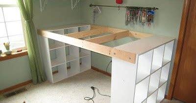 construire un bureau comment construire un bureau à partir d 39 étagères ikea