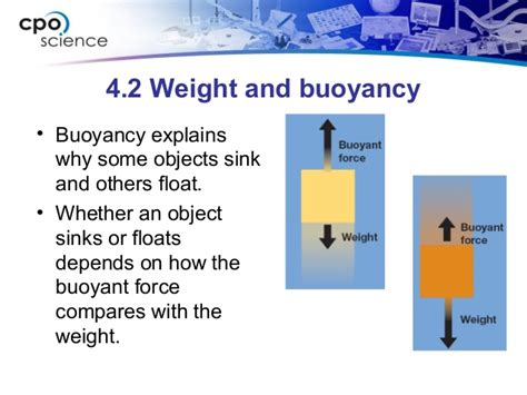 materials sink or float ch4 densityandbuoyancysection2