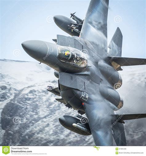 American Fighter Jet F15 Stock Image. Image Of Velocity