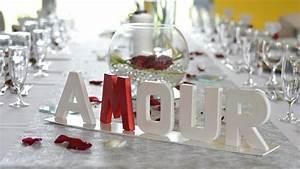 Décoration Mariage Rouge Et Blanc : mariage amour et passion ~ Melissatoandfro.com Idées de Décoration