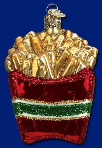 food inspired christmas ornaments   foodie