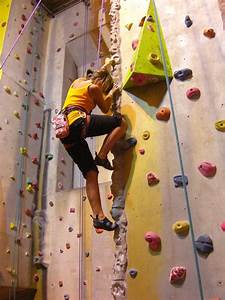 It's possible ... for me to rock climb (indoors of course ...