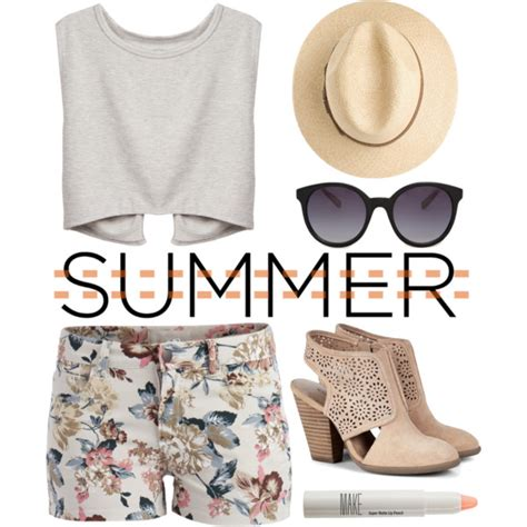 40 Best Polyvore Summer Outfit Ideas 2018 - Pretty Designs