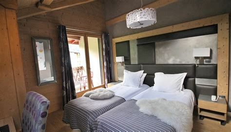 chambres doubles hotel alpina chambre