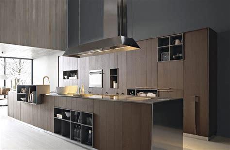 Black Kitchen Island Table - 35 sleek modern wood kitchen design ideas with pictures