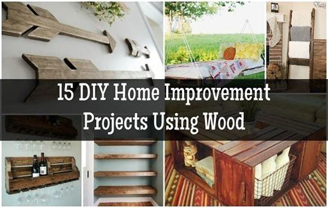 diy home improvement projects  wood