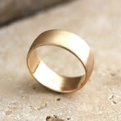 gold mens wedding bands wide 39 s gold wedding ring 8mm low dome 39 s