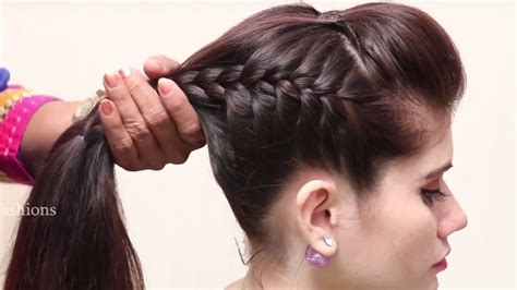 New Hairstyle For Hairs by Beautiful Unique Hairstyle For Hair Simple Craft Ideas