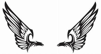 Wings Falcon Clipart Bird Greek Symbol Tattoo