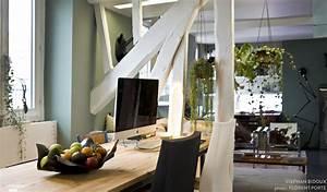 Que Mange Une Souris Dans Une Maison : une salle manger et un espace de travail ont t install dans ce duplex parisien maison de ~ Melissatoandfro.com Idées de Décoration