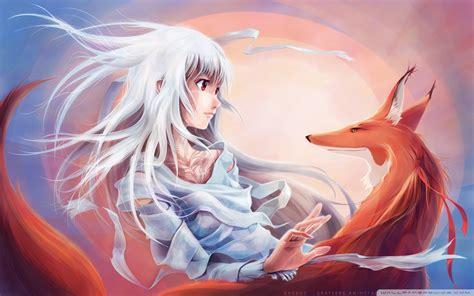 Fox Anime Wallpaper - fox hd wallpaper and hintergrund 1920x1200 id 335589
