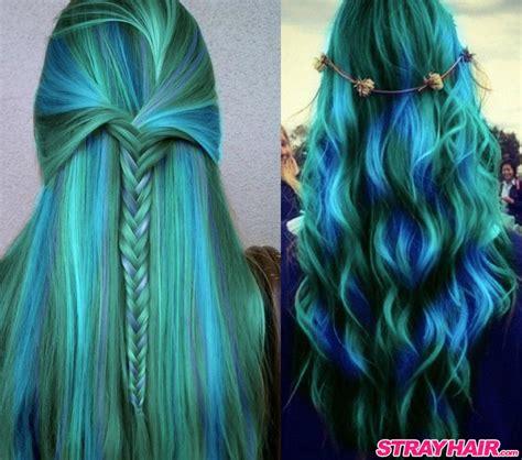 Hair Color Dye by Amazing Borealis Hair Color Strayhair