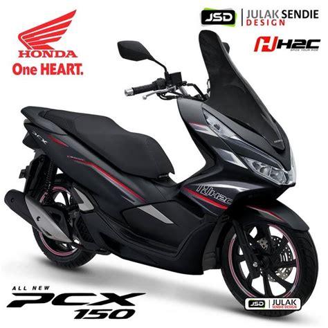 Honda Pcx 2018 Thailand by All New Honda Pcx 2018 Thailand By H2c Julak Sendie