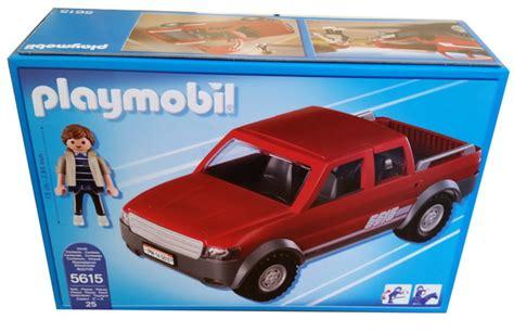 playmobil auto mit anhänger playmobil 5615 up mit doppelkabine auto transportauto suv lkw truck ebay