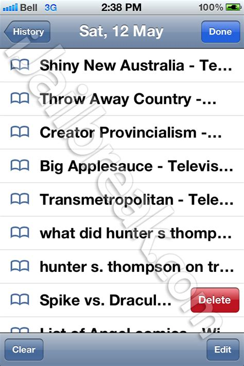 how to clear safari history on iphone how to clear history on iphone safari image search results