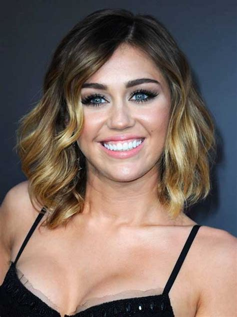short wavy hairstyles   faces