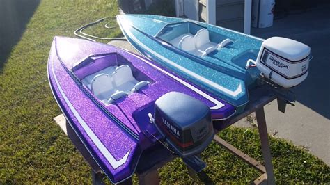 Purple Bass Boat by Ml Boatworks International Hobbies S Rc Boat Lineup